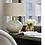 Thumbnail: Heathfield & Co Orion Suede Lamp