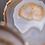 Thumbnail: Gold natural agate slice (S)