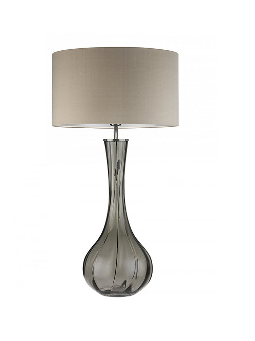 Heathfield & Co Sophia Table Lamp Smoke