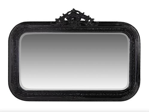 Baroque Mirror Black