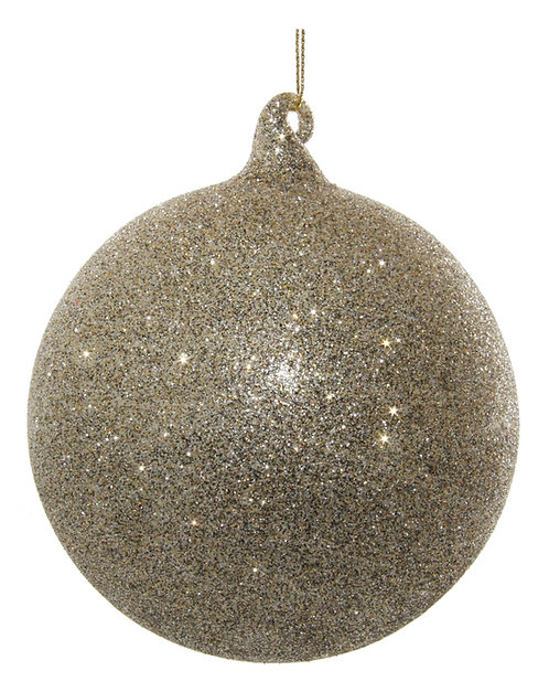 Glass ball tiffany glitter 10cm
