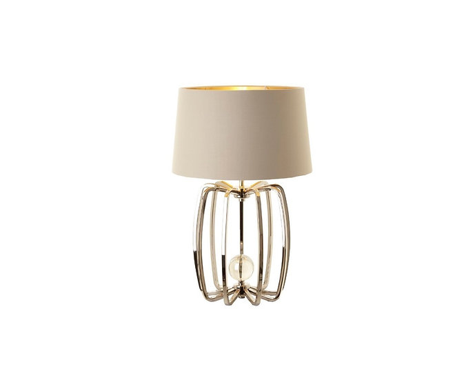 Cage Lamp Nickel Small