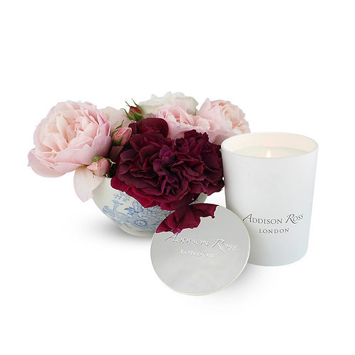 Addison Ross China Blue Scented Candle