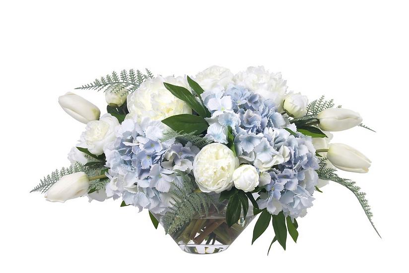 Diane James Hydrangea Blue/White