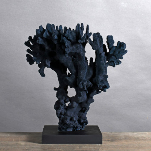 Deep Blue Coral Table Piece