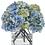 Thumbnail: Diane James Blue Hydrangea Bouquet in Glass Vase