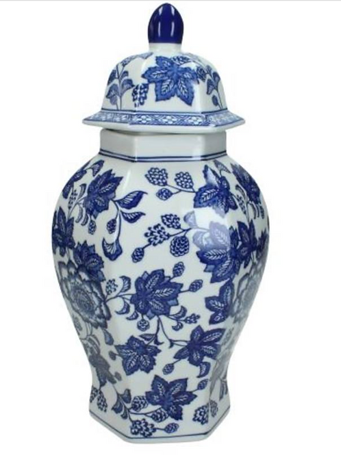 Chinoiserie Jar with lid