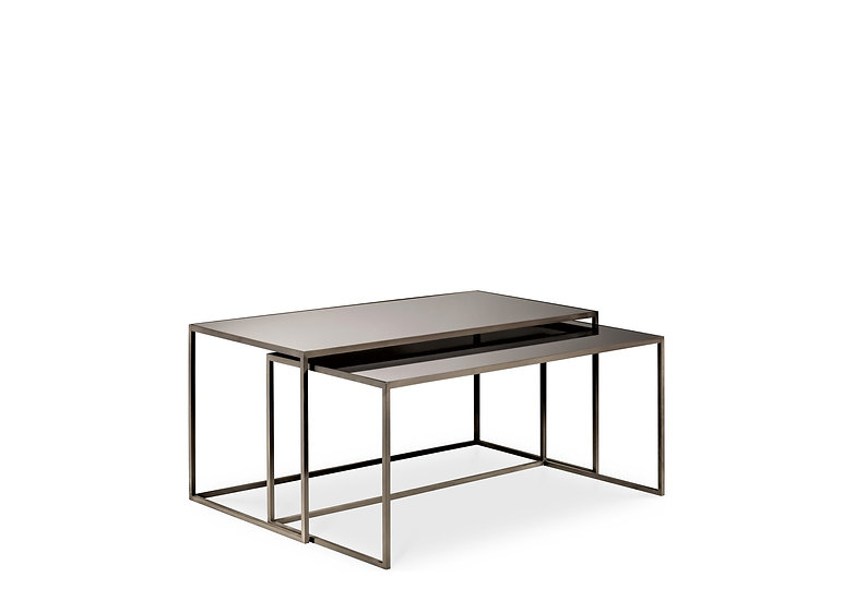 CANTORI Set of Rectangular Coffee Tables