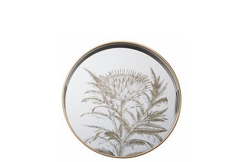 Floral Mirror Tray 45cm