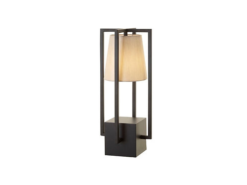Hurricane Table Lamp Black