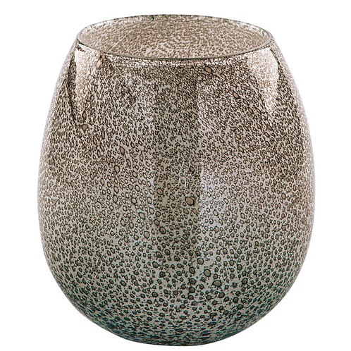 SILVA glass vase (h)17.5x16cm