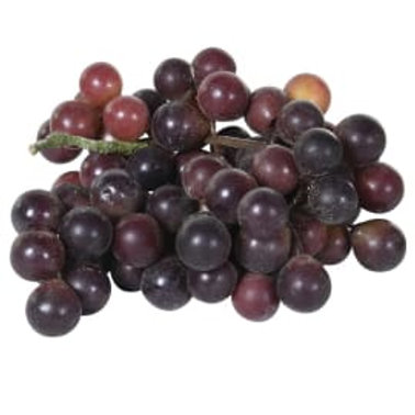 Bunch of Red Grapes
