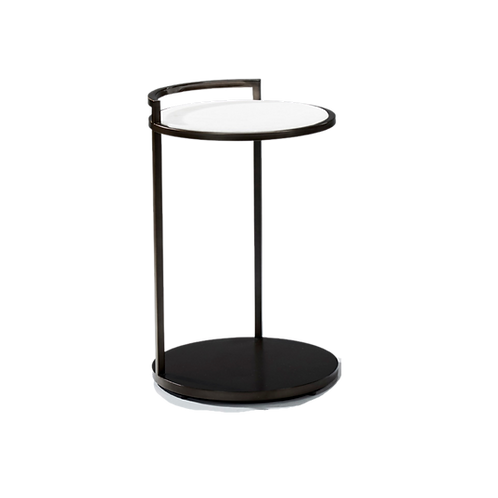 RL Barbican Side Table Marble
