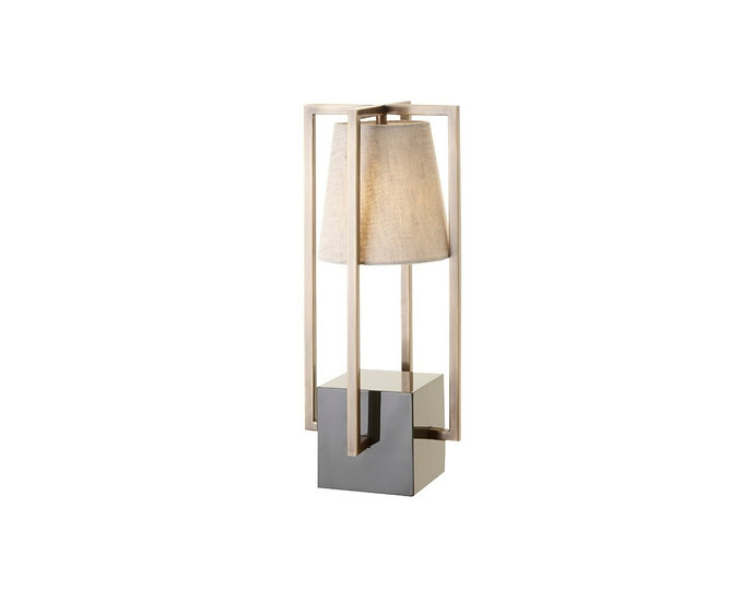 Hurricane Table Lamp Grey Olive