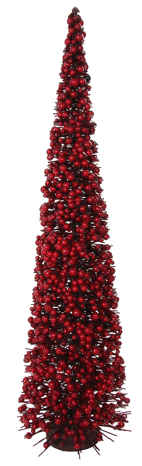 Red Berry Christmas Tree Large