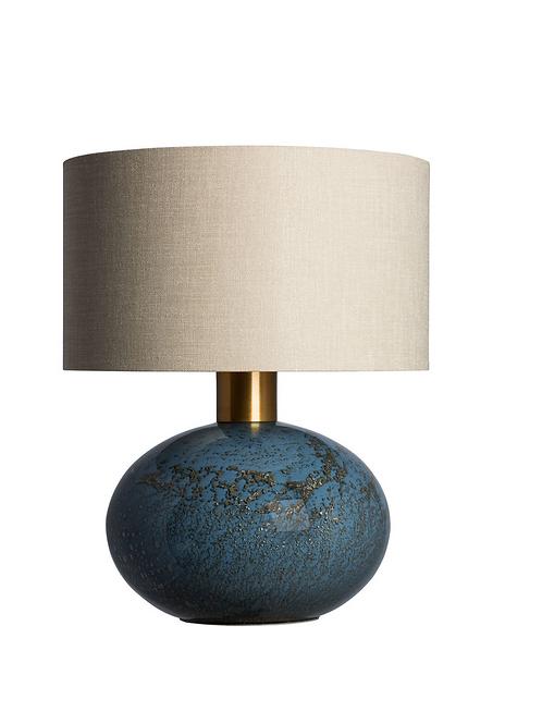 Heathfield & Co Orion Table Lamp Steel