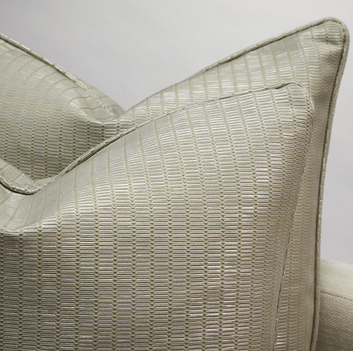 Gold lined Scatter Cushion