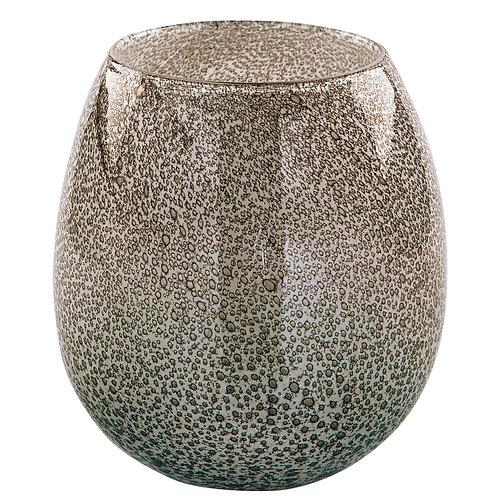 SILVA glass vase 20x19cm