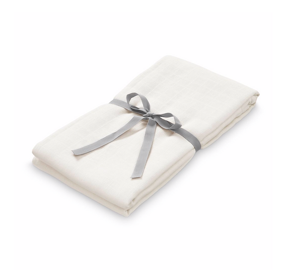 Light Muslin Swaddle, Creme