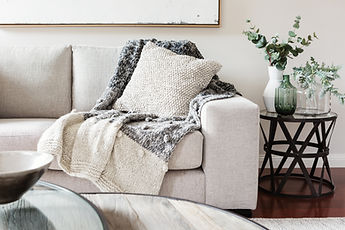 Textured layers interior styling of cush