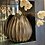 Thumbnail: Black Urchin Vase Lrg