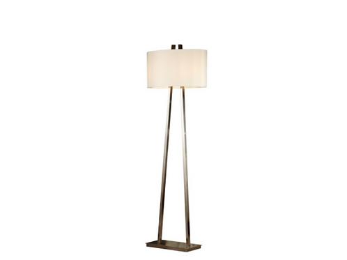 Baxter Floor Lamp (Brushed Nickel)