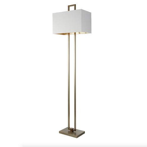 Danby Floor Lamp in Antique Brass