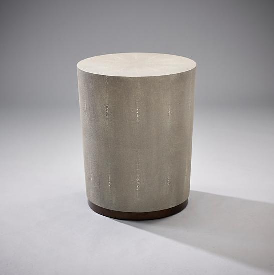 RL Largo Side Table Chalk Shagreen