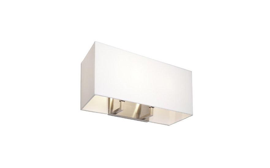 Crissa rectangular wall lamp