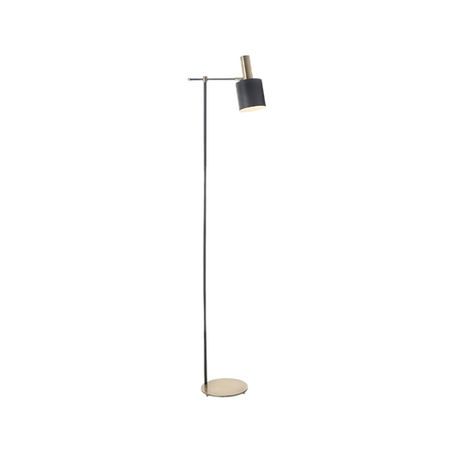 RV Pelle Antique Brass Finish Floor Lamp