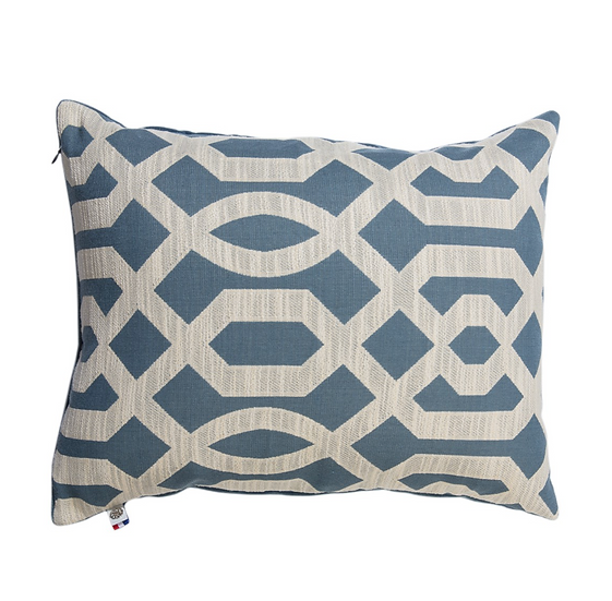 Jacquard Motif Art Deco Cushion 50x40cm