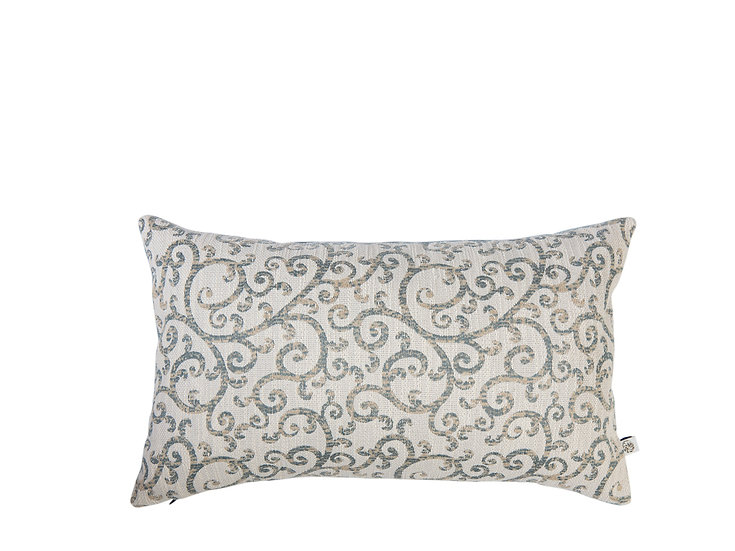Arabesque 30x30cm Jacquard Motif Cushion