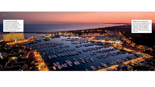 Vilamoura Marina At Evening time