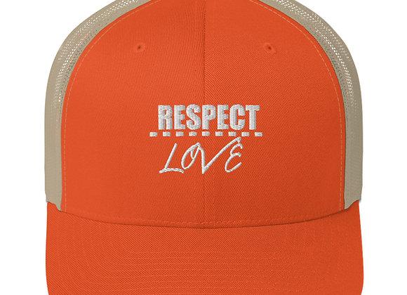 Respect Over Love Trucker Cap