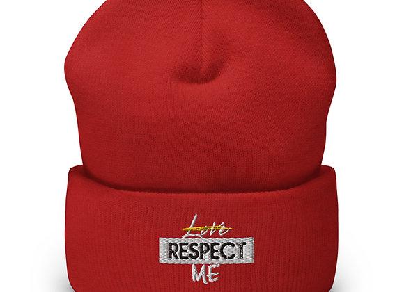 Respect Me Cuffed Beanie