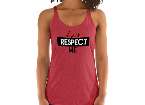 Respect Me Women's Racerback Tank