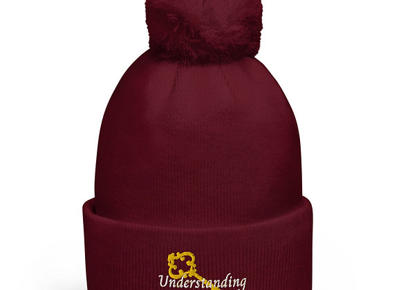 Understanding Is Key Pom Pom Beanie
