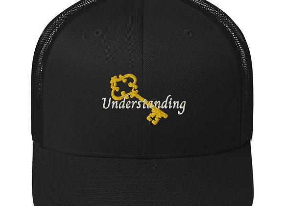 Understanding Is Key Trucker Cap