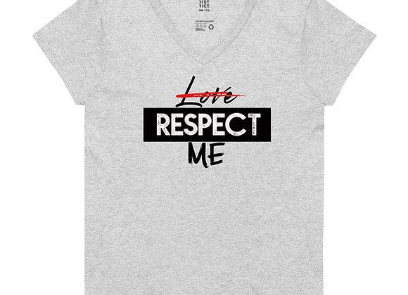 Respect Me Women's V-neck