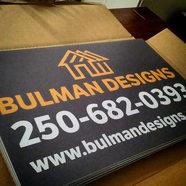 Bulman Designs Sign