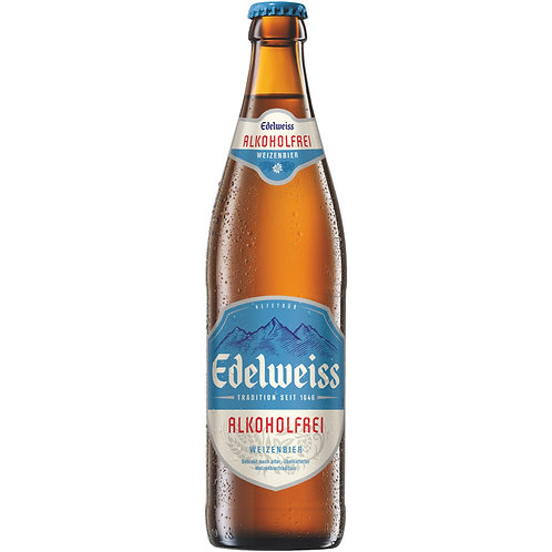 Edelweiss alkoholfrei 0,5l