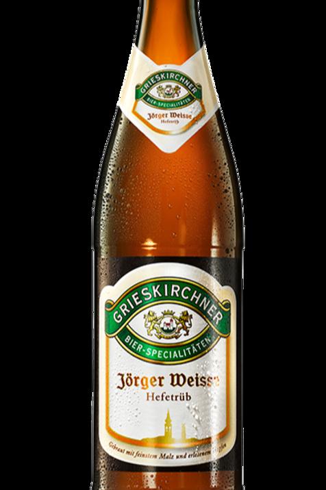 Grieskirchner Jörger Weisse hefetrüb hell 0,5l
