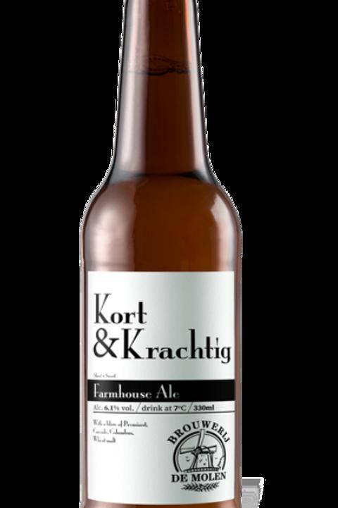 De Molen Kort & Krachtig Farmhouse Ale 0,33l