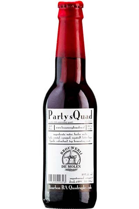 De Molen Party sQuad Bourbon BA Quadrupel 0,33l