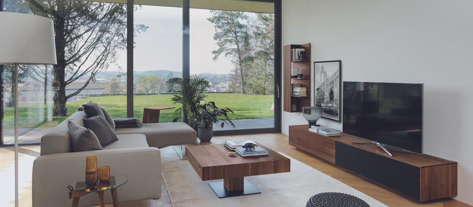Weniger ist mehr - Das moderne Wohnzimmer