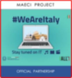 "New Age Productions is in partnership with MAECI for the project ""We Are Italy""!"