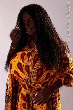 Martina Big - my new African dress