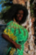 Model Martina Big as a Africa black womann