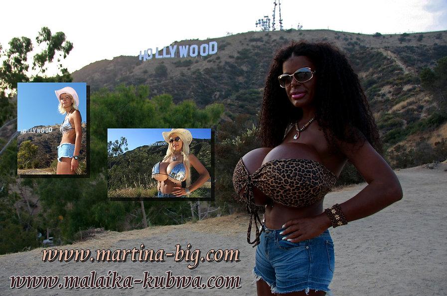 Model Martina Big in Hollywood