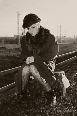Waiting for the last train